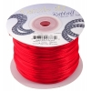 Rattail Cord 1mm Red